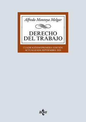 DERECHO DEL TRABAJO (41ª ED. REVISADA Y PUESTA AL DIA)