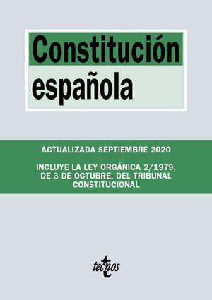 CONSTITUCIÓN ESPAÑOLA. ACTUALIZADA SEPTIEMBRE 2020