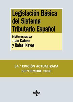 LEGISLACIÓN BÁSICA DEL SISTEMA TRIBUTARIO ESPAÑOL 2020