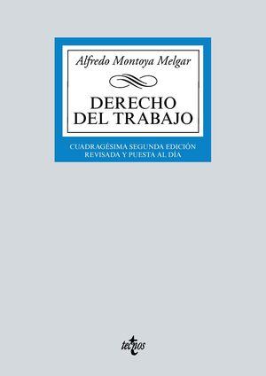 DERECHO DEL TRABAJO. 42ª ED. 2021
