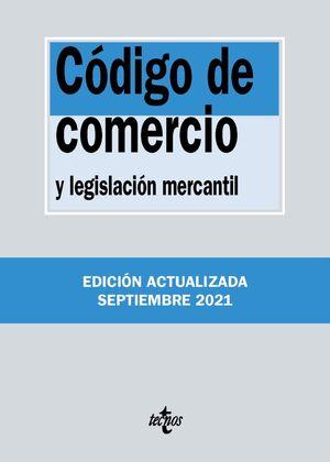 CÓDIGO DE COMERCIO Y LEGISLACIÓN MERCANTIL 38ª ED. 2021