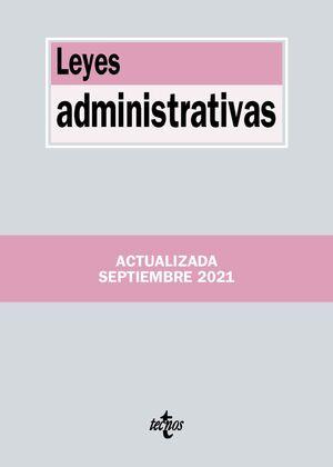 LEYES ADMINISTRATIVAS 5ª ED. 2021