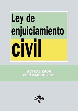 LEY DE ENJUICIAMIENTO CIVIL 5ª ED. 2021