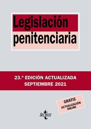 LEGISLACIÓN PENITENCIARIA 2021