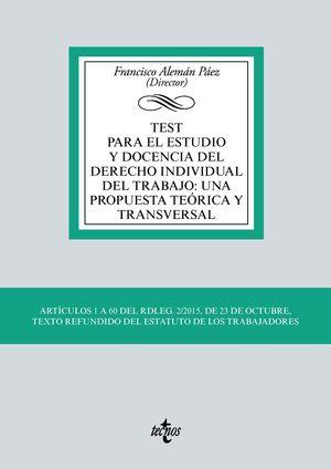 TEST PARA EL ESTUDIO Y DOCENCIA DEL DERECHO INDIVIDUAL DEL TRABAJO