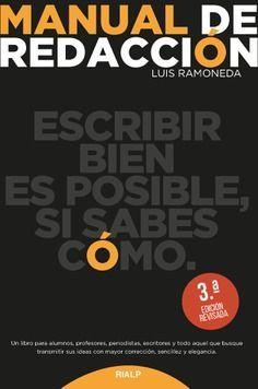 MANUAL DE REDACCIÓN 3ª ED.