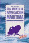 REGLAMENTO DE NAVEGACION MARITIMA