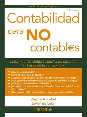 CONTABILIDAD PARA NO CONTABLES 5ª ED. 2019