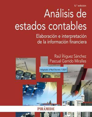 ANÁLISIS DE ESTADOS CONTABLES. 5ª ED.