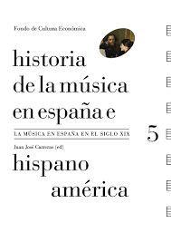 HISTORIA DE LA MUSICA EN ESPAÑA E HISPANOAMERICA 5 (TAPA DURA)