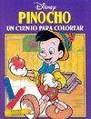 PINOCHO UN CUENTO PARA COLOREAR