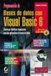 PROGRAMACIÓN DE BASES DE DATOS CON VISUAL BASIC 6