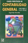 CONTABILIDAD GENERAL,CASOS PRACT.VOL.2 4ED.