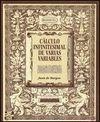 CALCULO INFINITESIMAL DE VARIAS VARIABLES