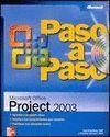 MICROSOFT OFFICE PROJECT 2003 PASO A PASO