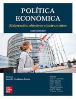 POLÍTICA ECONÓMICA. 6ª ED. 2019 ELABORACIÓN, OBJETIVOS E INSTRUMENTOS