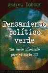 PENSAMIENTO POLITICO VERDE