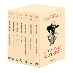 ESTUCHE EL CAPITÁN ALATRISTE  (7 VOL.)