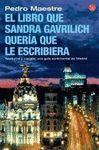 EL LIBRO QUE SANDRA GAVRILICH QUERIA QUE LE ESCRIBIERA FG