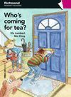 WHO´S COMING FOR TEA? CON CD. PRIMARY 3. PRE-MOVERS