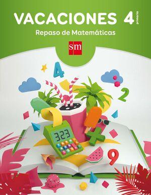 VACACIONES REPASO DE MATEMÁTICAS 4ºEP 17