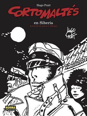 6. CORTO MALTÉS EN SIBERIA (EDICIÓN EN BLANCO Y NEGRO)