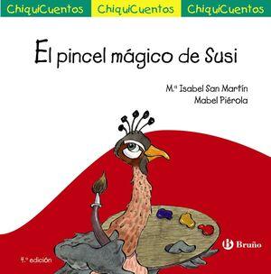 EL PINCEL MÁGICO DE SUSI (CHIQUICUENTOS 34)