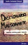 DICCIONARIO MALSONANTE. INGLES/ESPAÑOL