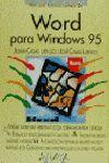 WORD PARA WINDOWS 95.MANUAL IMPRESCINDIBLE DE