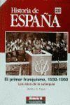 EL PRIMER FRANQUISMO, 1939-1959.Hª ESPAÑA 28