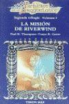 LA MISION DE RIVERWIND. PRELUDIOS DE DRAGONLANCE, SEGUNDA TRILOGIA 1.