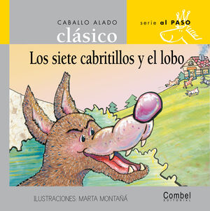 LOS SIETE CABRITILLOS Y EL LOBO (PALO)