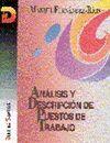 ANALISIS Y DESCRIPCION DE PUESTOS DE TRABAJO