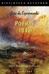 POESIAS (1840). ESPRONCEDA