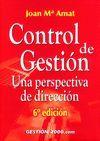 CONTROL DE GESTION. UNA PERSPECTIVA DE DIRECCION . 6ª ED.
