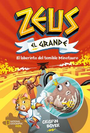 EL LABERINTO DEL TEMIBLE MINOTAURO (ZEUS EL GRANDE 2)