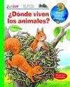 ¿QUÉ? JUNIOR 21. ¿DÓNDE VIVEN LOS ANIMALES?