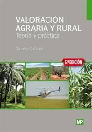 VALORACION AGRARIA Y RURAL 6ª ED.