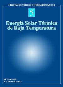 ENERGÍA SOLAR TÉRMICA DE BAJA TEMPERATURA