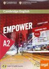 CAMBRIDGE ENGLISH EMPOWER FOR SPANISH SPEAKERS A2 STUDENT'S BOOK WITH ONLINE ASSESSMENT AND PRACTICE AND WORKBOOK