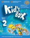 KID'S BOX LEVEL 2 PUPIL'S BOOK WITH MY HOME BOOKLET UPDATED ENGLISH FOR SPANISH SPEAKERS 2ND EDITION
