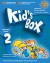 KID'S BOX LEVEL 2 ACTIVITY BOOK WITH CD-ROM UPDATED ENGLISH FOR SPANISH SPEAKERS 2ND EDITION