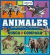 ANIMALES PREHISTORICOS Y ACTUALES. BUSCA Y COMPARA