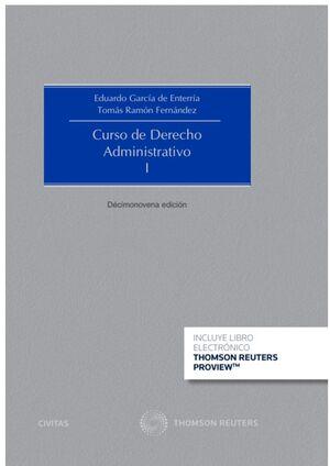 CURSO DE DERECHO ADMINISTRATIVO I . 18ª ED. 2020 (PAPEL + E-BOOK)
