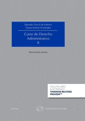 CURSO DE DERECHO ADMINISTRATIVO II . 16ª ED. 2020 (PAPEL + E-BOOK)
