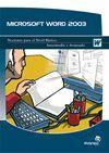 MICROSOFT WORD 2003 NOCIONES NIVEL BASICO, INTERMEDIO Y AVANZADO