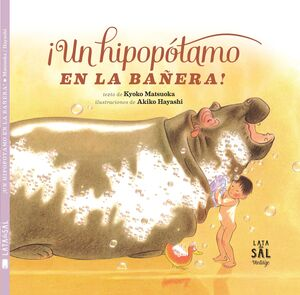 ¡UN HIPOPÓTAMO EN LA BAÑERA! (LATA DE SAL - VINTAGE)