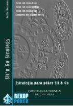 ESTRATEGIA PARA POKER SIT & GO