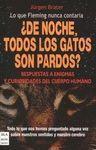 DE NOCHE TODOS LOS GATOS SON PARDOS?