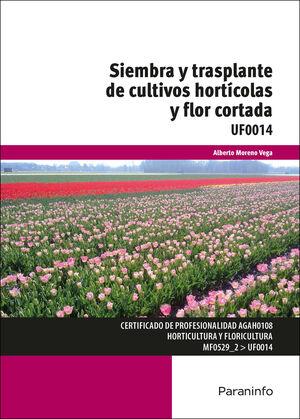 UF0014 SIEMBRA Y TRASPLANTE DE CULTIVOS HORTICOLAS Y FLOR CORTADA